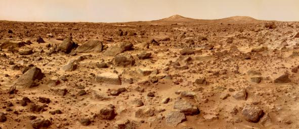 Surface of Mars from Pathfinder