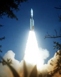 Voyager 2 launching
